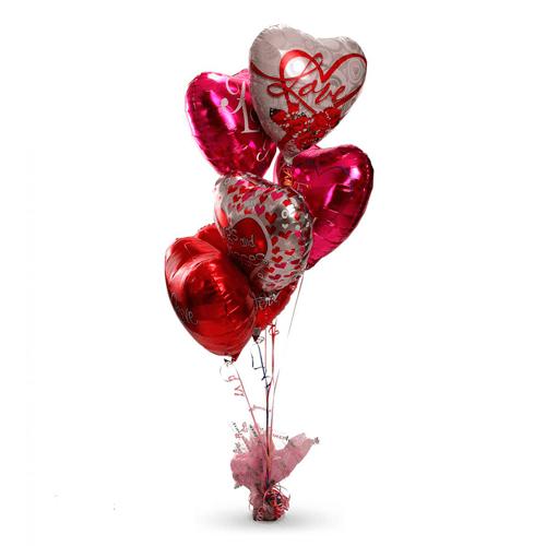 Ramillete de globos Amor