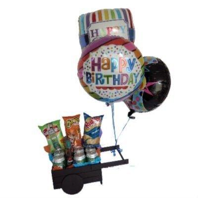 carreta con globos
