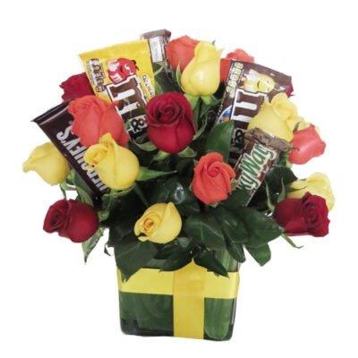 dulces y rosas