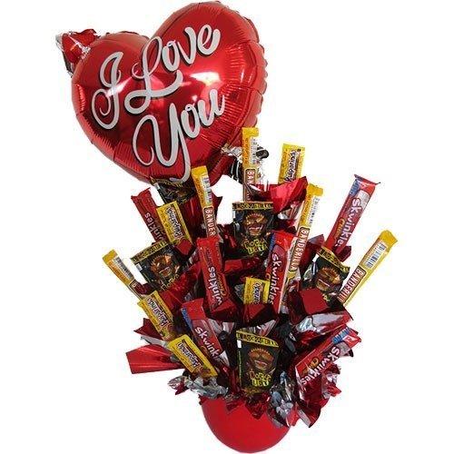 Candy Amor picosito con globo