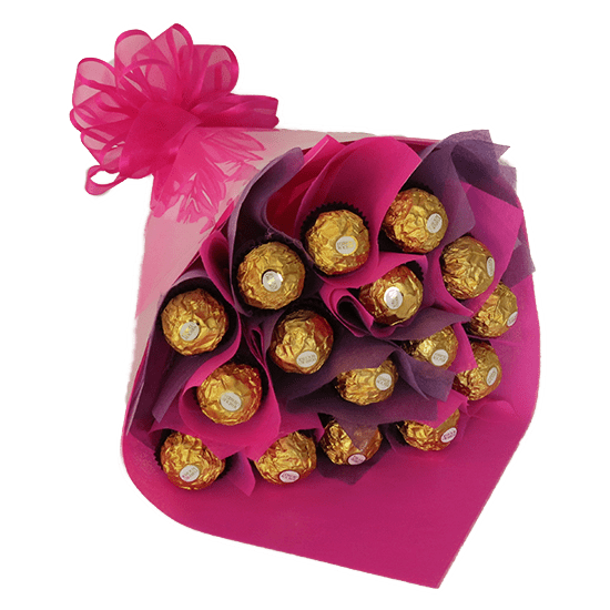 Bouquet Rocher Rosa