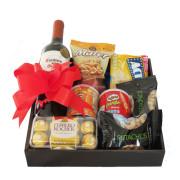 caja con snacks