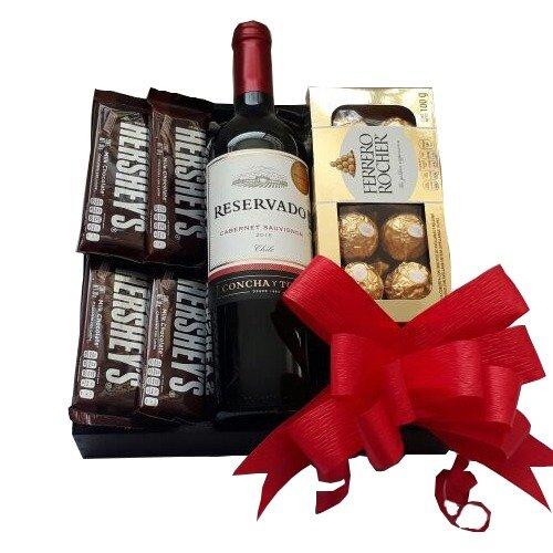 Especial de vino y chocolate