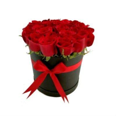 rosas en caja 500