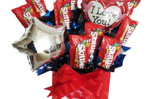 Bouquet de Skittles