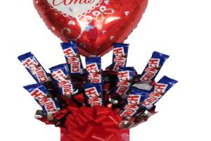 Crunch candy bouquet