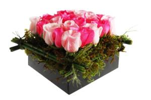 Caja con rosas Candy Sweet